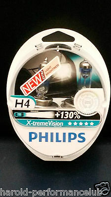 Philips H4 Extreme  X-Treme Vision +130% H4 OEM [ 12342XV+S2 ] Pick up !