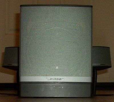 Bose Companion 3 series II Multimedia Speaker System - Very Good Condition