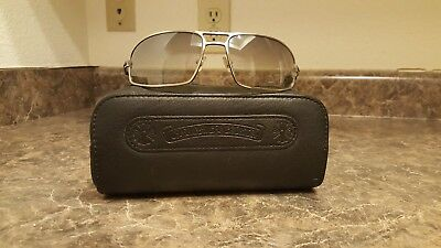 0f9f6721da7 MENS CHROME HEARTS Sunglasses with Case -  775.00