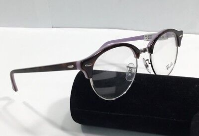 c801b1fe24 ... greece ray ban rx 4246v 2000 clubround shiny brown purple demo  eyeglasses mint dc86c b154e