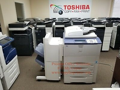 Toshiba E-Studio 857 Demo Unit. Meter only 375k