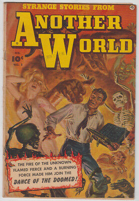 Strange Stories From Another World #5 - Norm Sauders cover