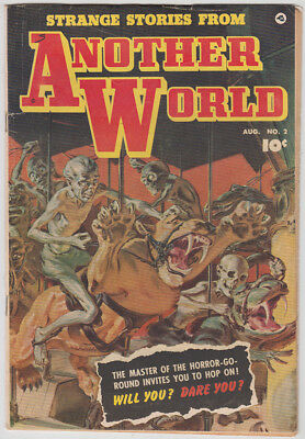 Strange Stories From Another World #2 - Norm Sauders cover