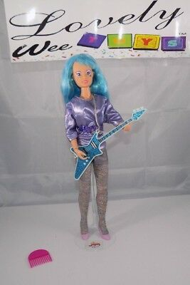 1986 Hasbro Jem and the Holograms - Aja doll - EXCELLENT CONDITION