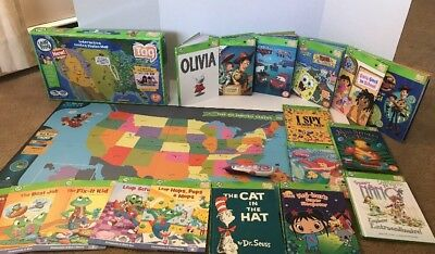 Leapfrog tag interactive world map 2 sided learning path leap frog leapfrog tag reading system interactive world map 19 books gumiabroncs Image collections