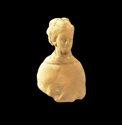 Aphrodite- Ancient Greek Pottery Female Bust