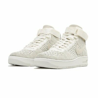 ccc697c5255 NIKE MEN S AF1 Ultra FlyKnit Mid Shoes Size 7 to 13 us 817420 101 ...