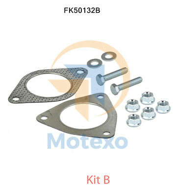 FK50140B FITTIING KIT FOR EXHAUST CONNECTING PIPE  BM50140