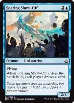 4 x Soaring Show-Off (040/254) - Battlebond - Common