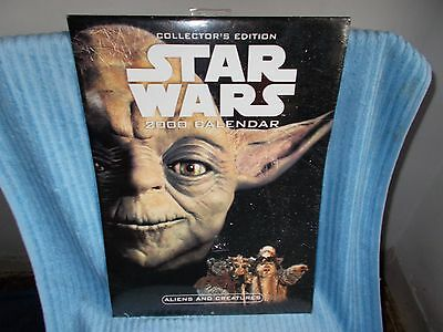 Star Wars Episode 1 2000 Calendar Collectors Edition