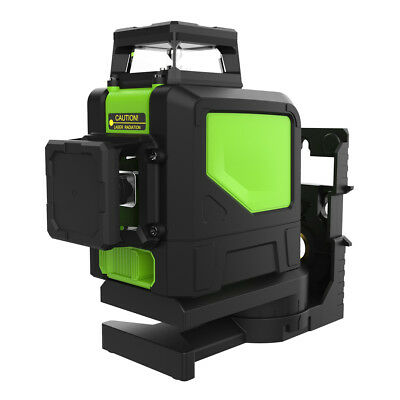 Green Laser Level 8 Line Self Leveling Outdoor 360° Rotary Cross Measure Tool oe