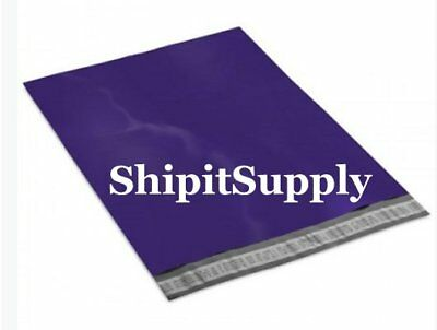 1-1000 9x12 ( Dark Purple ) Color Poly Mailers Shipping Bags Fast Shipping