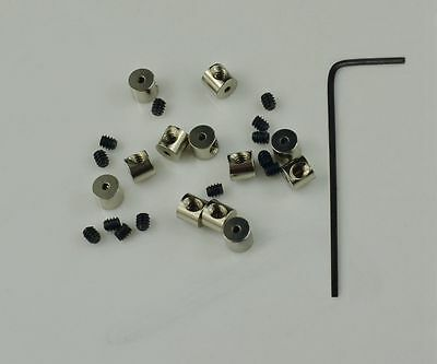 12 Pin Keepers Pin backs Pin Locks Locking Pin Backs FAST USA SHIPPING
