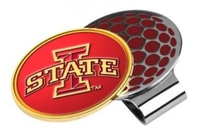 Iowa State Cyclones Golf Hat Clip & Ball Marker. LinksWalker. Free Shipping