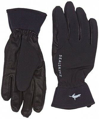 (X-Large, Black) - Sealskinz Women's Performance Competition Riding Glove