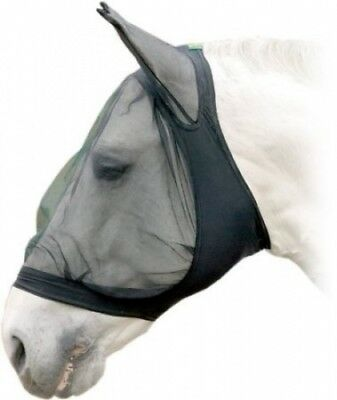 USG Fly Veil with Ear Protector, Pony, Lycra, Black. Free Delivery