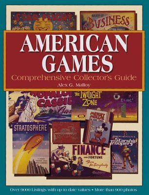 AMERICAN GAMES: COMPREHENSIVE COLLECTOR'S GUIDE By Alex G. Malloy **BRAND NEW**