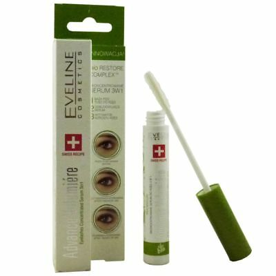 Eveline Cosmetics Advance Volumiere 3in1 10 ml Eye Lashes Wimpernserum
