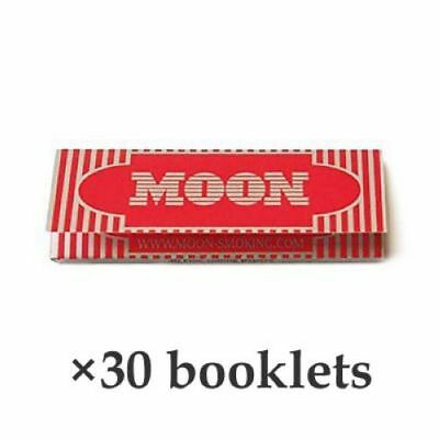 Moon Cigarette Tobacco Rolling Papers 70*36mm 30 Booklets=1500 leaves smoking