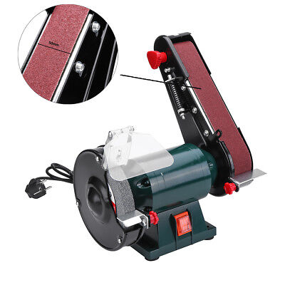 6'' 150mm Bench Grinder Belt Sander Sharpener Linisher Sanding Grinding Machine