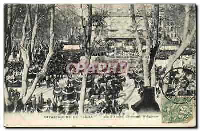 VINTAGE POSTCARD Catastrophe Of Iena Places Weapons Religious Ceremony Toulon Bo