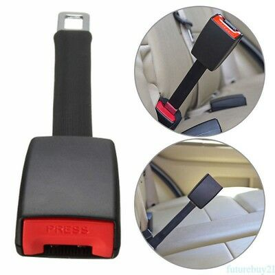 25cm Universal Car Seat Seatbelt Safety Belt Extender Extension 2.1cm Buckle DT