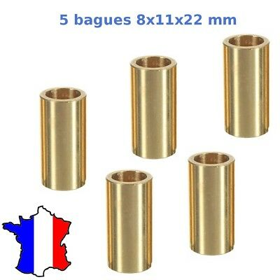 5 x bague bronze autolubrifiante lms8uu 8x11x22mm  Bronze Bearing ultimaker  8mm