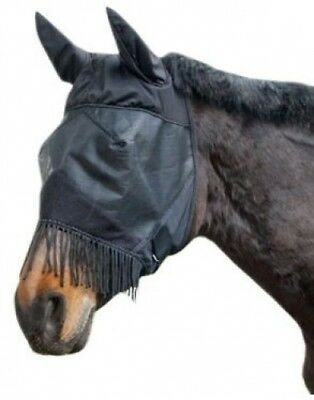 Kerbl VB 321268 Fly Mask with Ear Protection and Nostril String