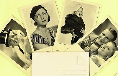 ROSS VERLAG - 1930s Film Star Postcards produced in Germany #8081 to #8250