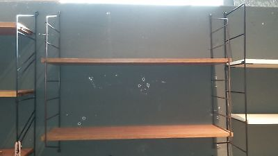 Shelf System Shelf String Nisse Style Era 60er 70er Wall Shelf Vintage
