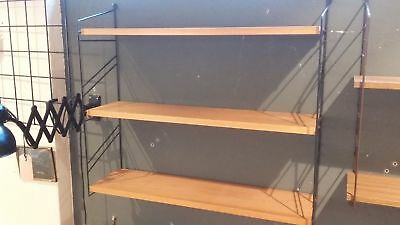 Shelf System Shelf String Style Era 60er 70er Wall Shelf Vintage