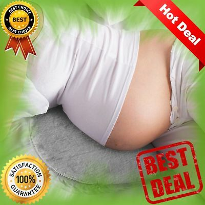 Pregnancy Pillow Wedge   Memory Foam Maternity Pillow for Body, Belly, Knees NEW