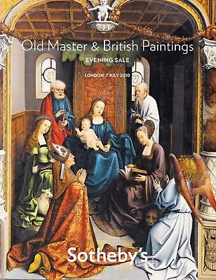 OLD MASTER PAINTINGS, W. TURNER u.a.: Sotheby's Top-Katalog London 10 +results