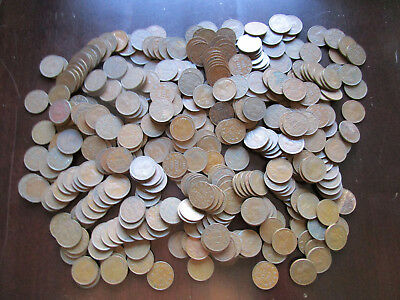 CANADIAN PENNY LOT: 400 GEORGE V CANADIAN PENNIES (zz1)