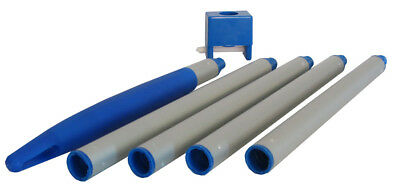 """Aluminum Pole 4 foot for small pools or spas - 0.75"""" diameter"""