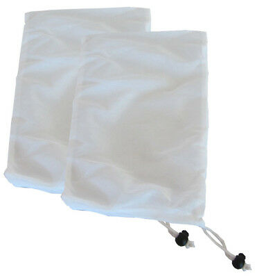 Replacement Bag for Small Vacuums for Spas and Swimming Pools - 2 Pack