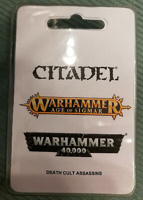 Warhammer Age of Sigmar, Warhammer 40.000, 40k, Death Cult Assassins, Todeskult