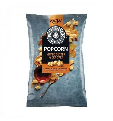 Red Rock Popcorn Maple Butter Salt 120g x 6