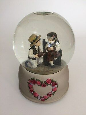 Westland Kim Anderson's Forever Young Musical Snow Globe Candy Man