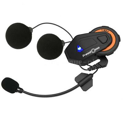 FreedConn Bluetooth 4.1 Headset Intercom Motorrad Helm Interphone 6 Fahrer 1500M