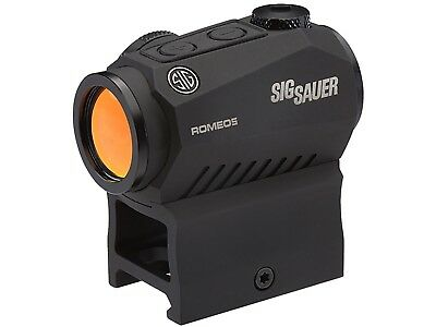 Sig Sauer ROMEO5 Compact Red Dot Sight 1x 20mm 1/2 MOA Adjustments SOR52001