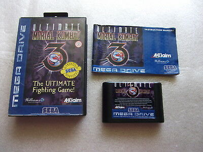 Ultimate Mortal Kombat 3 (SEGA MEGA DRIVE * PAL)