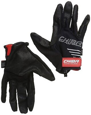 (Small, Black) - Chiba Gloves Top Performer Horse Riding Glove. Free Shipping