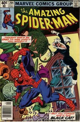 Amazing Spider-Man #204 ~ May 1980 ~ 8.0 VF ~ Excellent Copy! ~ Very Fine