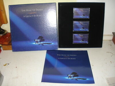 Walt Disney - THE MUSIC OF DISNEY - A-LEGACY IN SONG