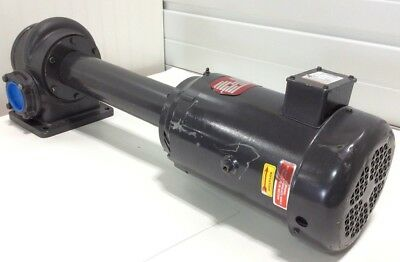 NEW! Gusher 11024-XLONG Coolant Water Pump 5HP Motor 230V 460V 3 Phase