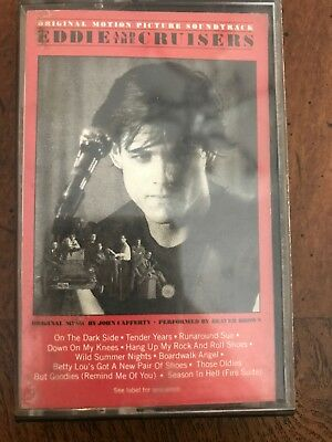 Eddie and the Cruisers Soundtrack Cassette Tape 5sk