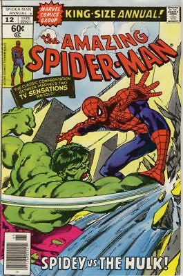 Amazing Spider-Man Annual #12 ~ 1978 ~ 6.5 FN+ ~ Very Nice Copy ~ Fine +