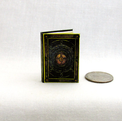 BOOK OF CAGLIOSTRO Miniature Book 1:12 Illustrated Readable Book Doctor Strange