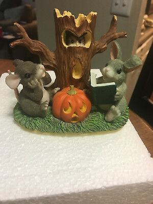 "Fitz And Floyd Charming Tales ""ghost Stories"" Halloween So Cute With Box Look!"